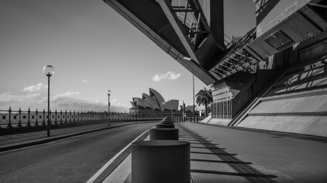 Opera House-Harbour Bridge Long exposure