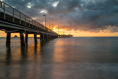 Palm Cove Wharf - Sunrise