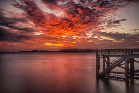 Sunrise Torpedo Bay